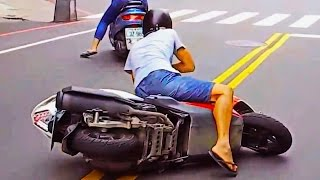 Scooter Crash Scooter Crash Compilation Driving in Asia 2015 Part 19