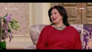 """السفيرة عزيزة - لقاء مع الفنانة """" سلوي عثمان """" وزوجها """" أسامة أبو باشا """""""