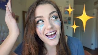 Chit-Chat GRWM: RAVE EDITION (Glitter Tears, Festival Life Hacks & More!)