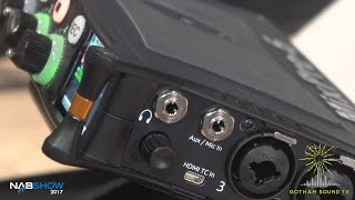 NAB 2017: Sound Devices MixPre Recorders