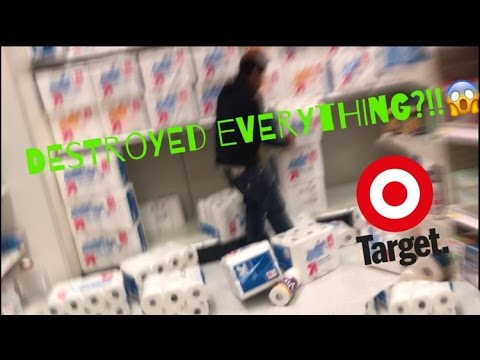 Xxx Mp4 DESTROYING TOILET PAPER FORT 3x At TARGET SECURITY CALLED 3gp Sex