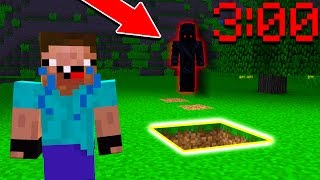 NOOB PLAYS MINECRAFT AT 3:00AM! (Do NOT Attempt)