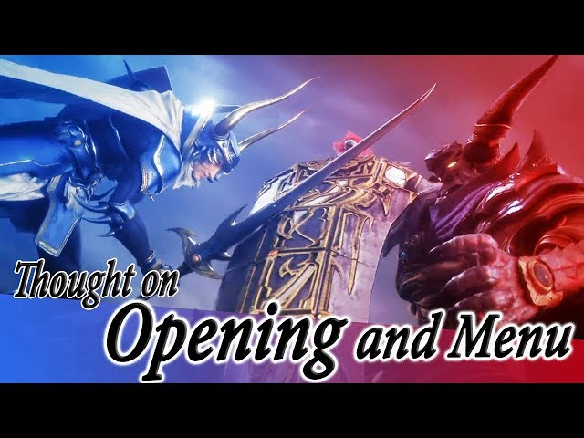 Thought on Openning, and 2nd NT boardcast -  Dissidia Final Fantasy NT (DFFAC/DFFNT)