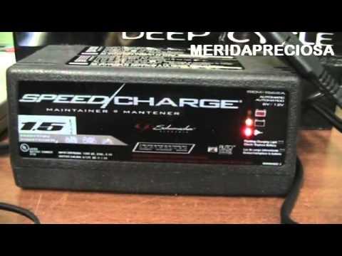 Cargador Inteligente de Baterías 12v y 6v