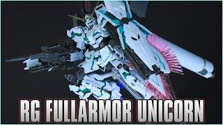Real Grade RG 1/144 Fullarmor Unicorn Gundam Review - MECHA GAIKOTSU