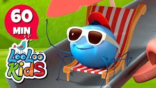 Incy Wincy Spider - THE BEST Songs and Nursery Rhymes for Children | LooLoo Kids