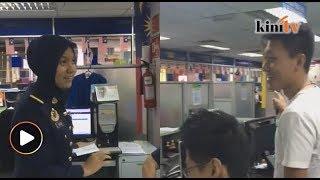 Pegawai JPJ petah Mandarin bantu penuntut China