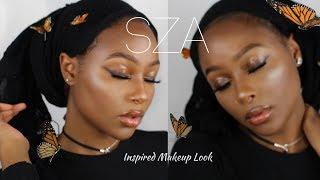 SZA LOVE GALORE INSPIRED MAKEUP LOOK | YASMINE SIMONE