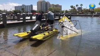 RAW: Small aircraft flips while trying to land in Sarasota Bay