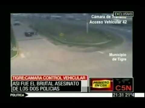 C5N ASI FUE EL BRUTAL ASESINATO DE LOS 2 POLICIAS