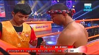 Phon Phanna vs Manaothorng(thai), Khmer Boxing My TV 18 Aug 2017, Kun Khmer vs Muay Thai