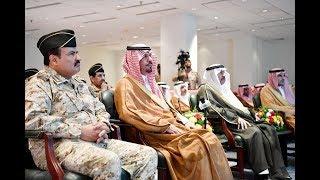 الأمير خالد بن عياف وزير الحرس الوطني يزور وكالةالحرس الوطني بالقطاع الغربي ويلتقي بمنسوبيها