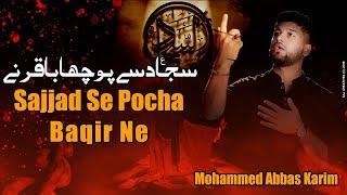 Mohammed Abbas Karim | Sajjad se poocha Baqir ne | Official Video | 2017/2018
