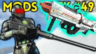 Fallout 4 TOP 5 MODS (PC & XBOX) Week #49 - .50 BROWNING, LIGHTSABERS, SPARTAN LASER, ANIMATIONS