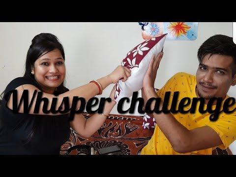 INDIAN BROTHER SISTER DOING WHISPER CHALLENGE /RAKHI SPECIAL//व्हिसपर  चैलेंज