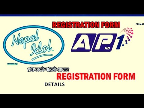 How to download Nepal Idol's Registration Form Easy steps [ नेपाल आयडल फारम ]
