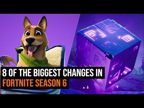 8 Biggest Changes in Fortnite Season 6