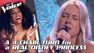 Tayla Thomas sings 'Let It Go' from Frozen by Idina Menzel | The Voice Stage #6