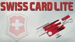 VICTORINOX SWISSCARD LITE - SWISS ARMY KNIFE REVIEW