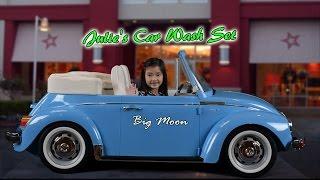 A Super Big Box from American Girl: Julie's Car Wash Set