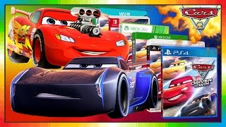 Cars 3 ENGLISH ★☠ 2017 ☠★ Game ★★ Gameplay & NEW Trailer ★★ DRIVEN TO WIN ★★ McQueen & JACKSON STORM