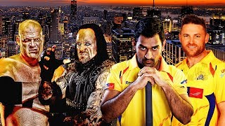 M.S. Dhoni & Brendon McCullum VS The Brothers of Destruction - Extreme Rules Match