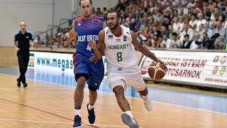 Adam Hanga 32 points vs. Great Britain (EuroBasket 2017 - Quali)