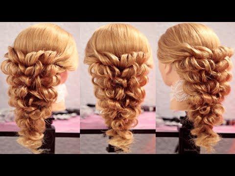 Причёски с помощью резинок