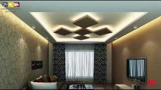 photo 3d decoration en placo platre ba13 moderne alger - Decoration Des Salon Placoplatre