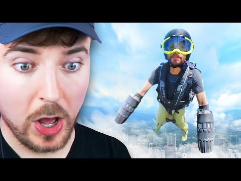 Real Flying Suit