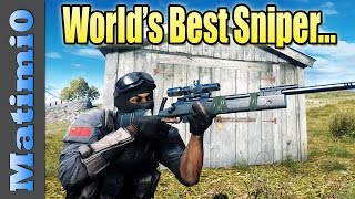 The Best Sniper in the World... Battlefield 4