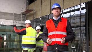 Výrazný pokrok v stavebných prácach na budove nemocnice novej generácie v Michalovciach - 4. časť