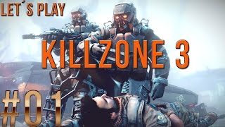 Let´s Play Killzone 3 - part 01 [German/HD/Blind]