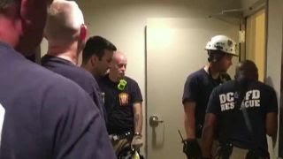 Man falls down garbage chute looking for dropped phone