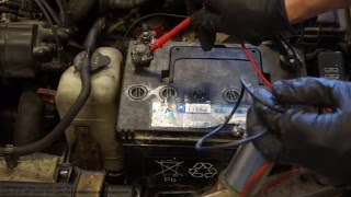 How to test car fuel pump motor