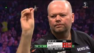 Raymond van Barneveld vs Michael Smith 5th Week Premier League Darts 2016