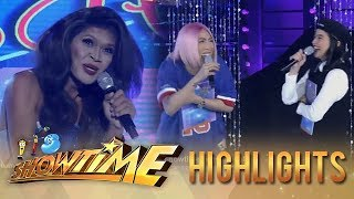 It's Showtime Miss Q & A: Vice Ganda and Anne laugh off President Ganda's funny stint