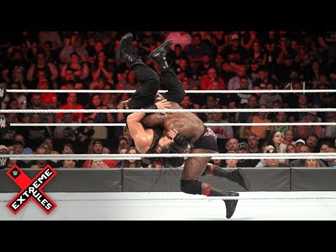 Xxx Mp4 Bobby Lashley And Roman Reigns Collide In Hard Hitting Clash WWE Extreme Rules 2018 WWE Network 3gp Sex