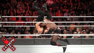 Bobby Lashley and Roman Reigns collide in hard-hitting clash: WWE Extreme Rules 2018 (WWE Network)