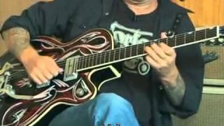 Brian Setzer Guitar Lesson
