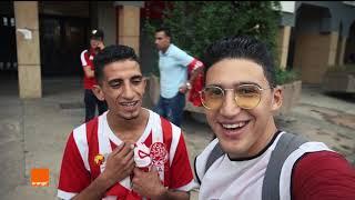 أحدات مقابلة الوداد مع الجماهير من قلب الحدث مع Ismail Sefrioui vlog