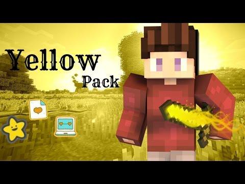 ResourcePack:Yellow 1.7+-1.8