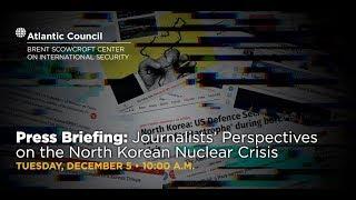 Press Briefing: Journalists