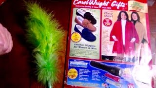 Relaxing, Flipping Thru Carol Wright Gift Catalog, Soft Spoken Comments, ASMR, Chewing Gum,