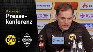 Thomas Tuchel nach dem Sieg gegen Gladbach | BVB - Borussia Mönchengladbach 4:1