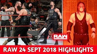 WWE Monday Night Raw 24 September 2018 Highlights ! WWE Raw 9/24/18 Preview
