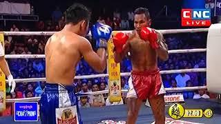 Muth Khlim Khmao Cambodia Vs Amatak Sorsorpakorn, Khmer Warrior Boxing CNC TV Boxing 12 August 2018