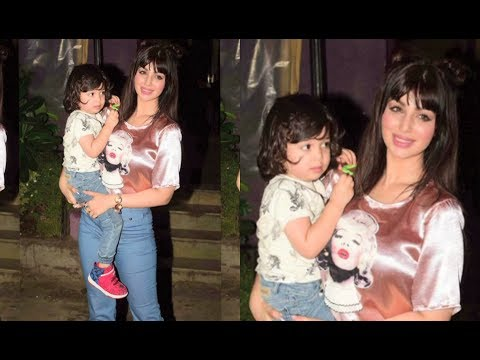 Ayesha Takia's LATEST Pictures With Her Cute Son