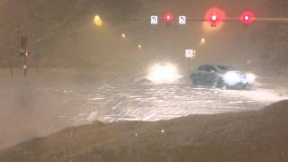 Anchorage, Alaska Snow Storm 03/14/14