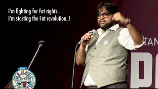 Fight for Fatism! Standup comedy video by Baggy